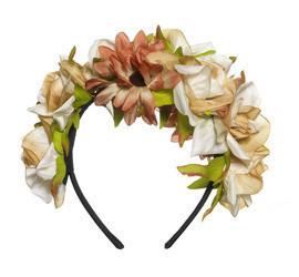 Floral garland headband 12.00gbp 14 99eur 26 90chf 59 90pln 20.00usd